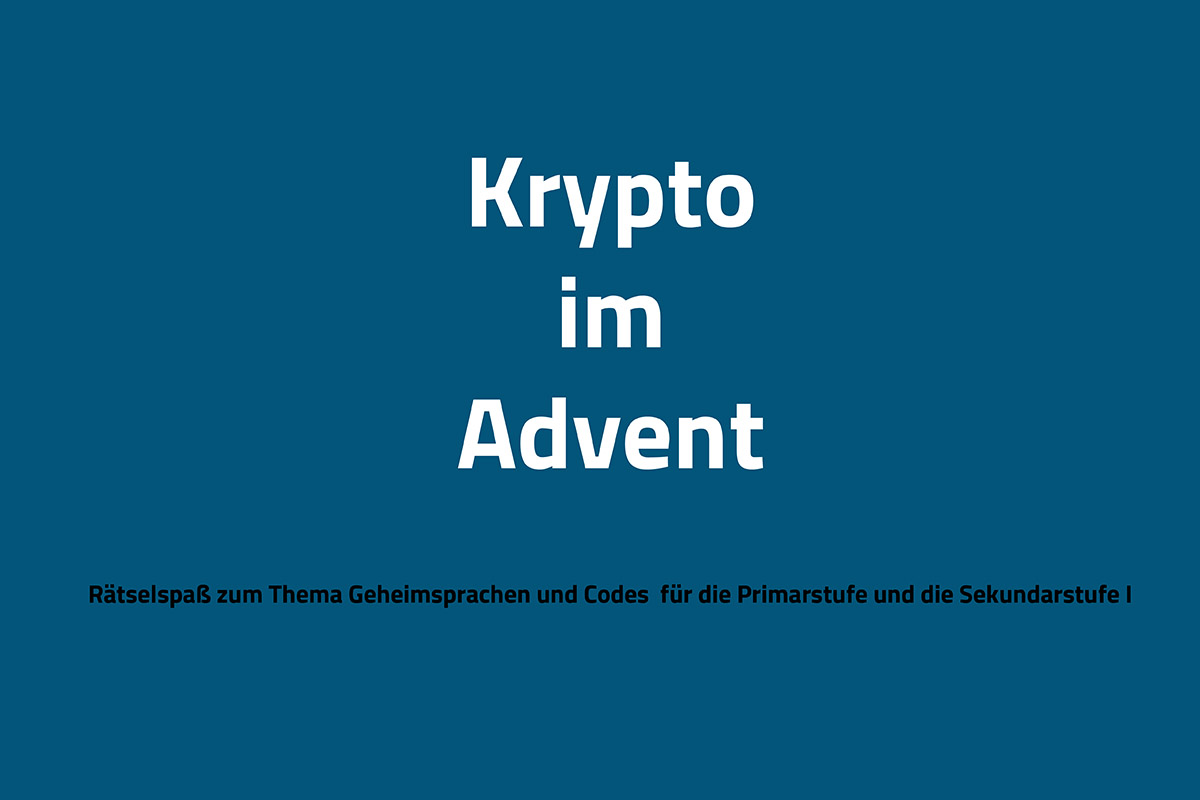Krypto im Advent