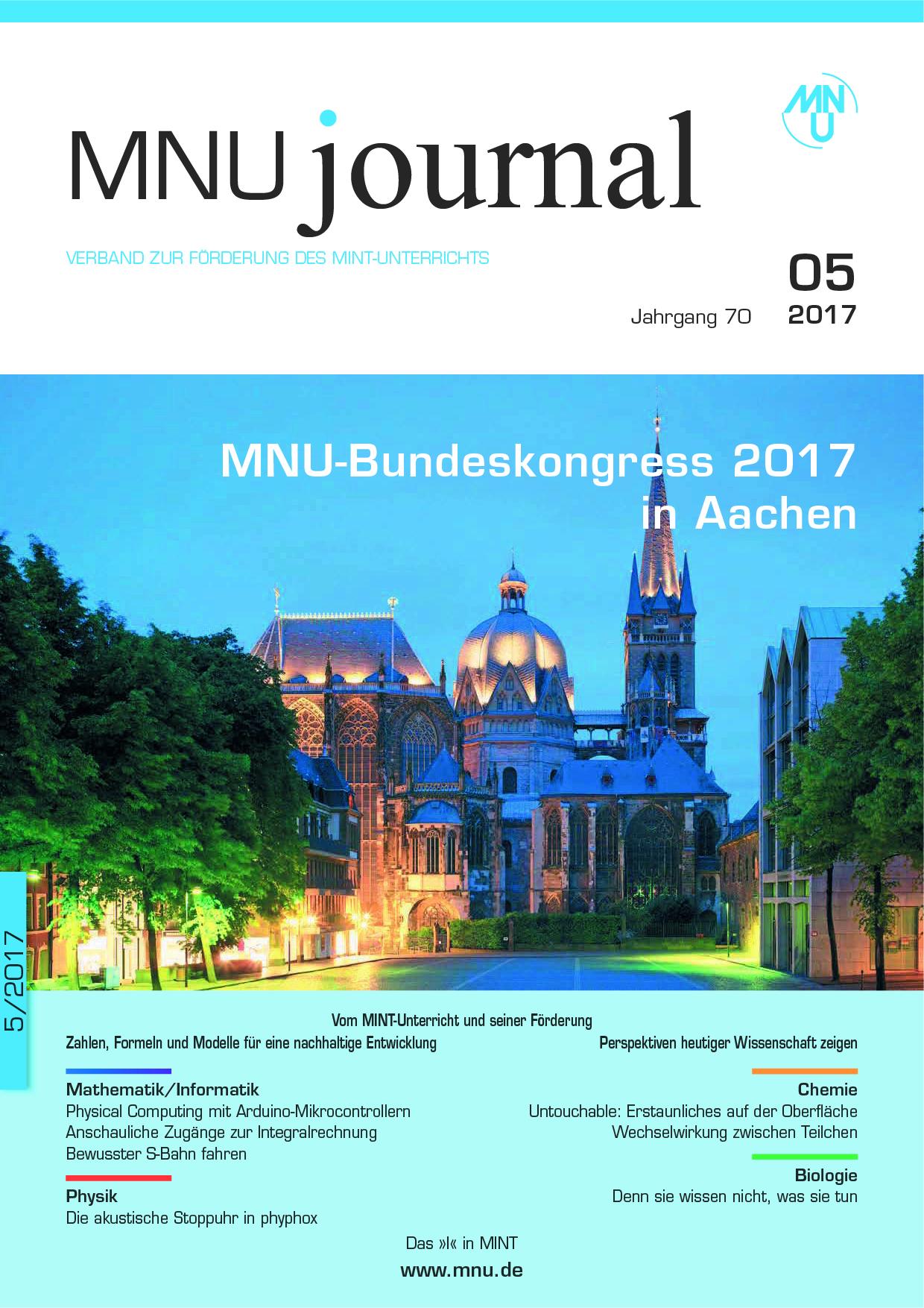 MNU - Verband zur Förderung des MINT-Unterrichts - Publikationen